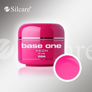 Poze Gel UV Base One Neon Pink (Roz Neon) -  5 gr