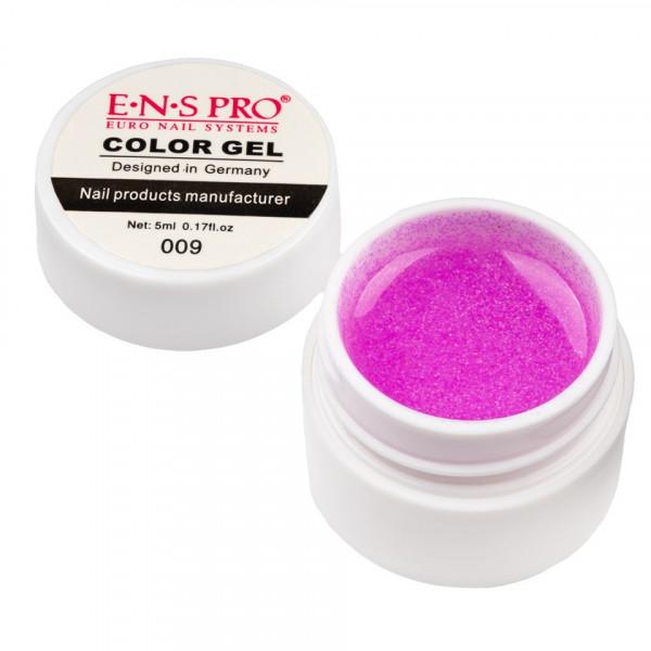 Poze Gel UV Color cu Sclipici ENS PRO #009 - Pink Galaxy