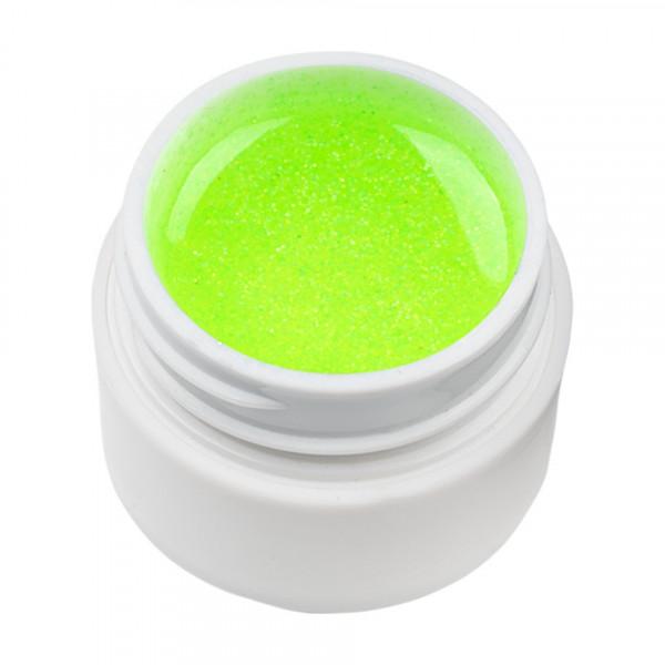 Poze Gel UV Color cu Sclipici ENS PRO #021 - Green Neon