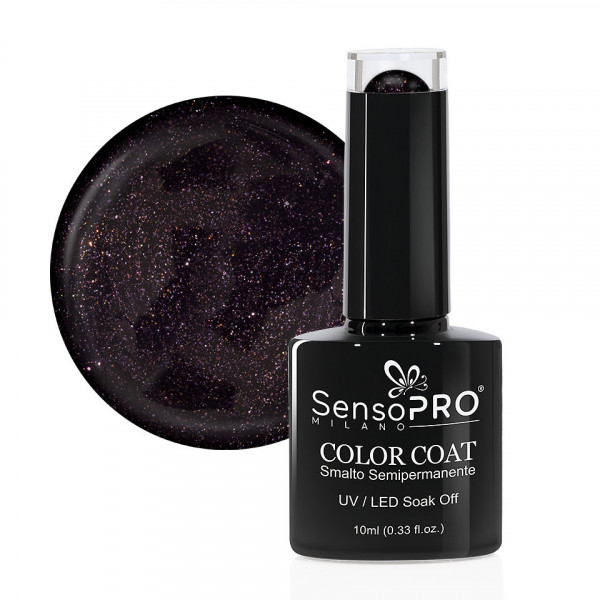 Poze Oja Semipermanenta SensoPRO Milano 10ml - 074 Pearly Purple
