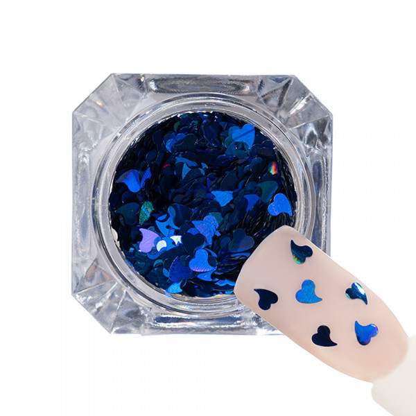Poze Paiete Unghii 004 Jasmine Heart - LUXORISE