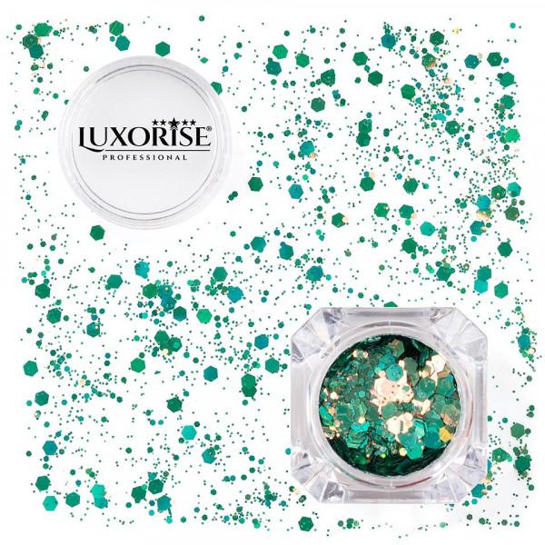 Poze Paiete Unghii LUXORISE Disco Lights #06