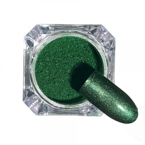 Poze Pigment unghii Chrome #125 cu aplicator - LUXORISE