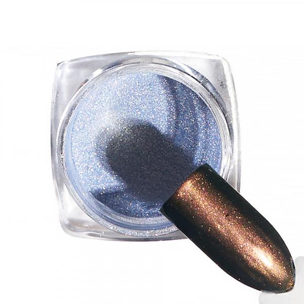 Poze Pigment unghii Chrome #53 cu aplicator - LUXORISE