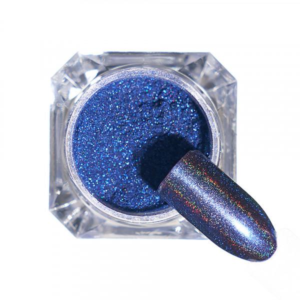 Poze Pigment unghii Holografic #115 cu aplicator - LUXORISE
