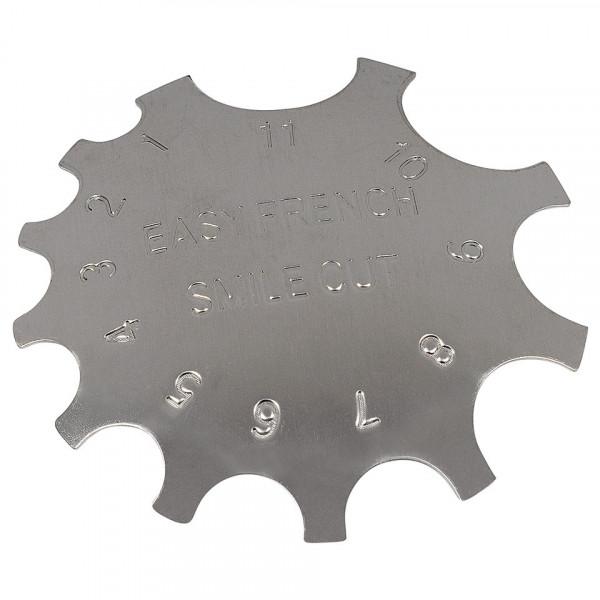 Poze Rotita Metalica pentru french cu acryl #01