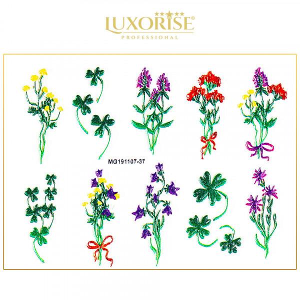 Poze Tatuaj 3D Unghii LUXORISE 1107-37