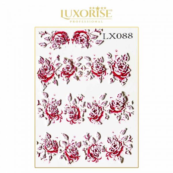 Poze Tatuaj 3D Unghii LUXORISE Artistry LX088