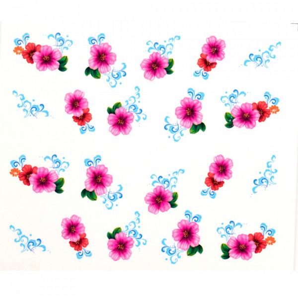Poze Tatuaj unghii A015 flori