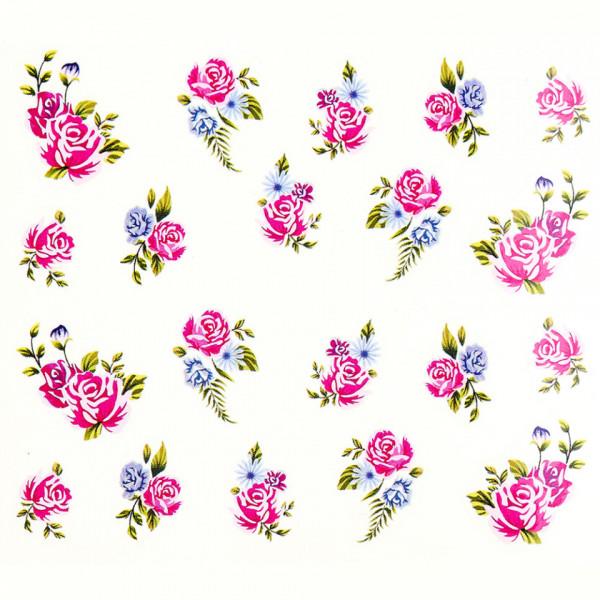 Poze Tatuaj unghii A025 flori