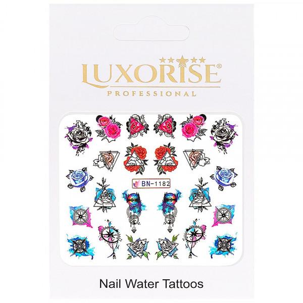 Poze Tatuaj unghii LUXORISE, Fantasy BN-1182