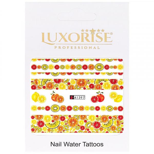 Poze Tatuaj unghii LUXORISE, Fruits A1397