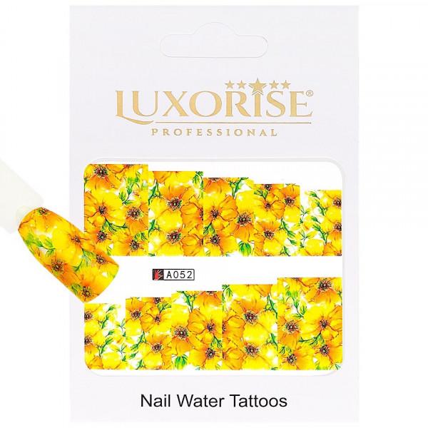 Poze Tatuaj unghii LUXORISE, Nature A052