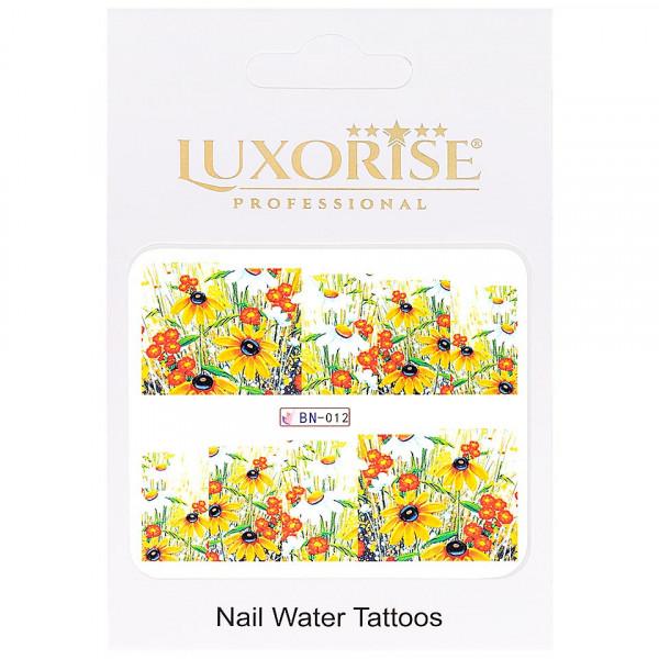 Poze Tatuaj unghii LUXORISE, Nature BN-012
