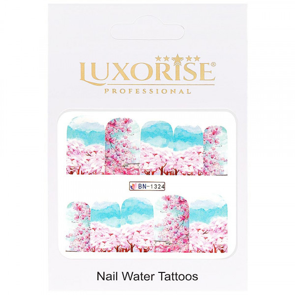 Poze Tatuaj unghii LUXORISE, Nature BN-1324