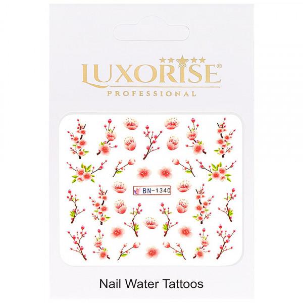 Poze Tatuaj unghii LUXORISE, Nature BN-1340