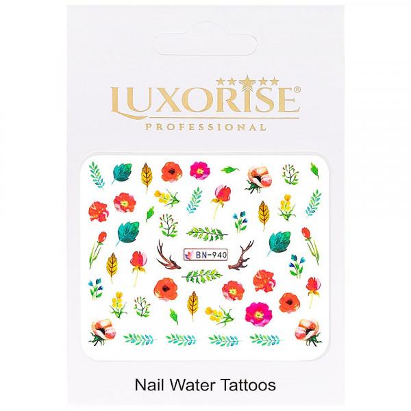 Poze Tatuaj unghii LUXORISE, Nature BN-940