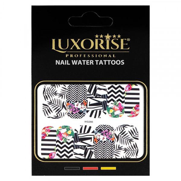 Poze Tatuaj unghii LUXORISE, Nature WG266