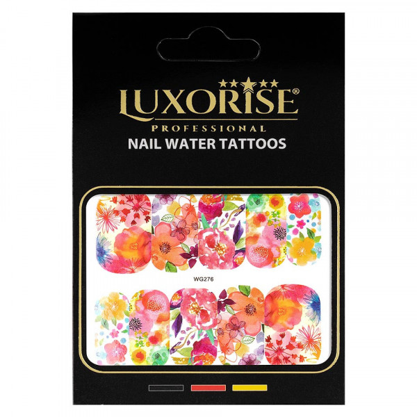 Poze Tatuaj unghii LUXORISE, Nature WG276