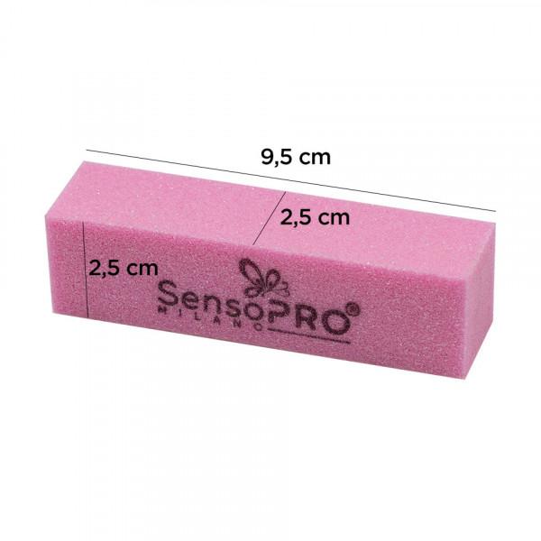 Poze Buffer Unghii SensoPRO Milano, roz