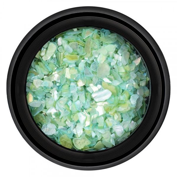 Poze Decor Unghii tip Scoica Pisata LUXORISE - Light Green