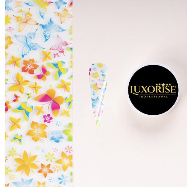 Poze Folie de Transfer Unghii LUXORISE #16-1 Flower Mania