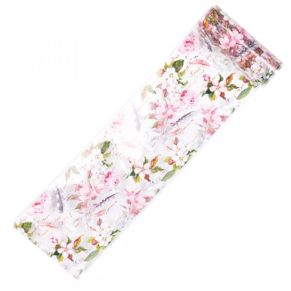 Poze Folie de Transfer Unghii LUXORISE #367 Flower Mania