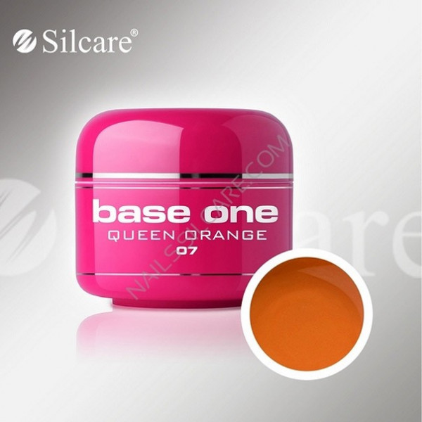 Poze Gel UV Base One Queen Orange (Portocaliu) - 5 gr