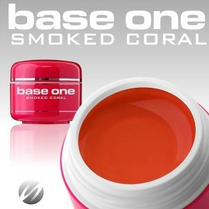 Poze Gel UV Base One Smoked Coral -  5 gr
