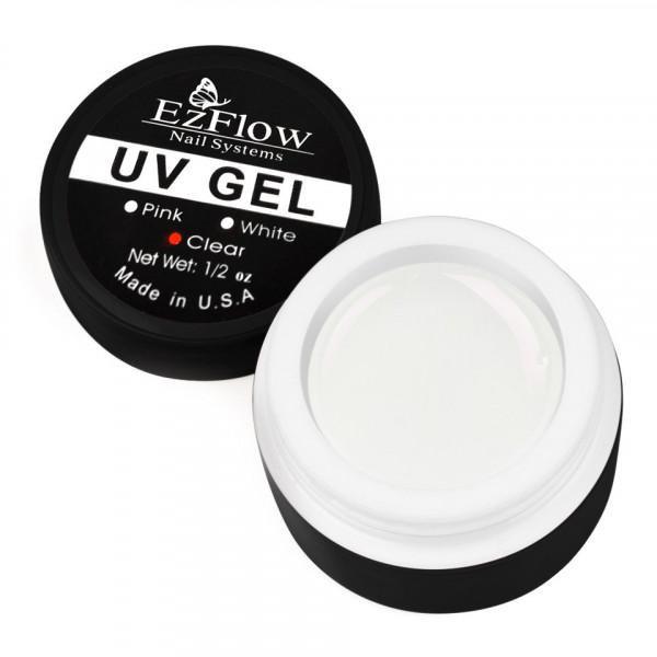 Poze Gel UV EzFlow 15 gr Alb - White French