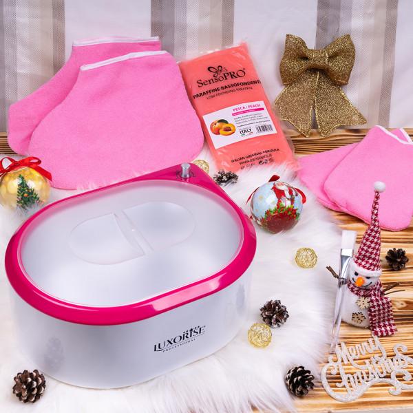 Poze Kit Parafina cu Incalzitor parafina + accesorii