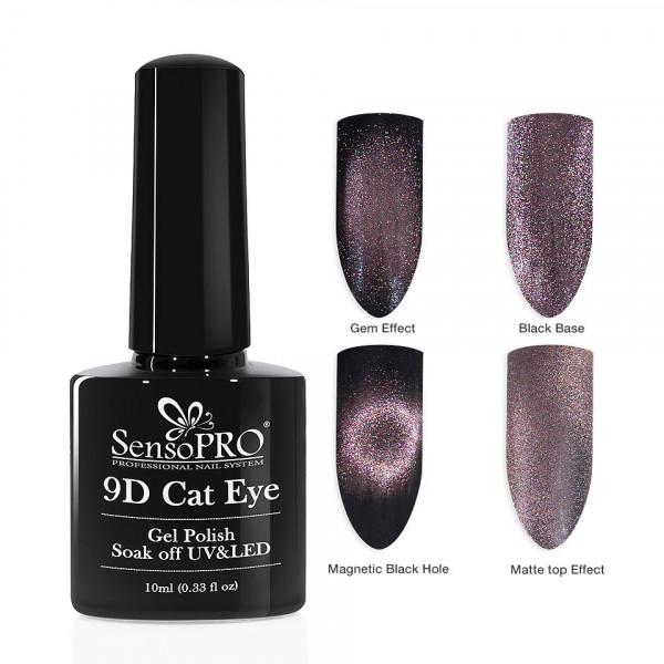 Poze Oja Semipermanenta 9D Cat Eye #08 Algol - SensoPRO 10 ml