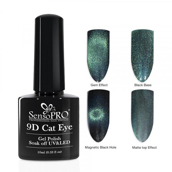 Poze Oja Semipermanenta 9D Cat Eye #19 Auriga - SensoPRO 10 ml