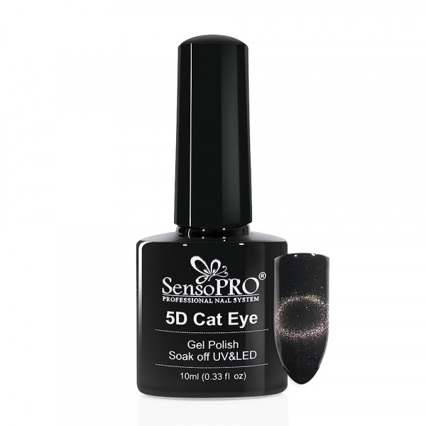 Poze Oja Semipermanenta Cat Eye Gel 5D SensoPRO 10ml, #09 Puppis