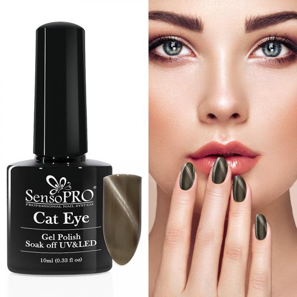 Poze Oja Semipermanenta Cat Eye SensoPRO 10ml - #004 LongTime