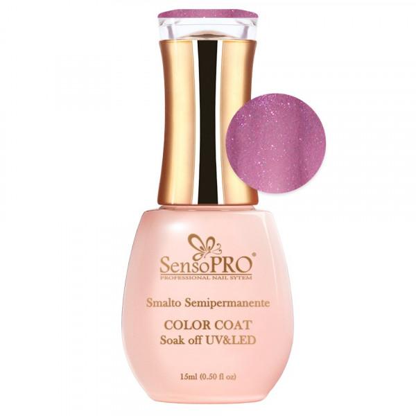 Poze Oja Semipermanenta SensoPRO 15ml culoare Ciclam - 062 Elegant Pink