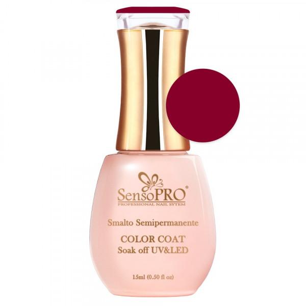 Poze Oja Semipermanenta SensoPRO 15ml culoare Rosu - 065 Famous Red