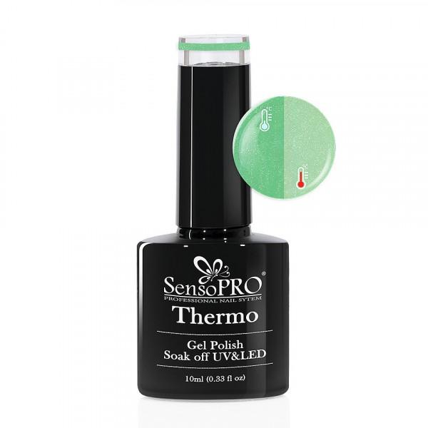 Poze Oja Semipermanenta Termica SensoPRO Verde 10ml - #004-1 Green Tea