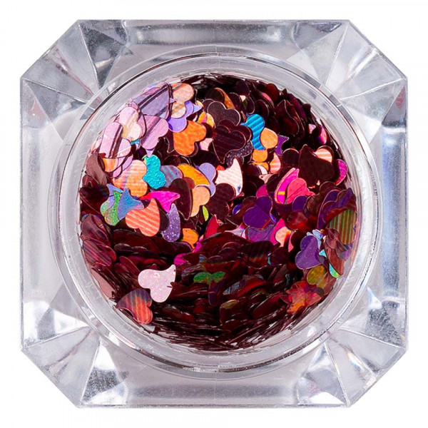 Poze Paiete Unghii 009 Candy Heart - LUXORISE