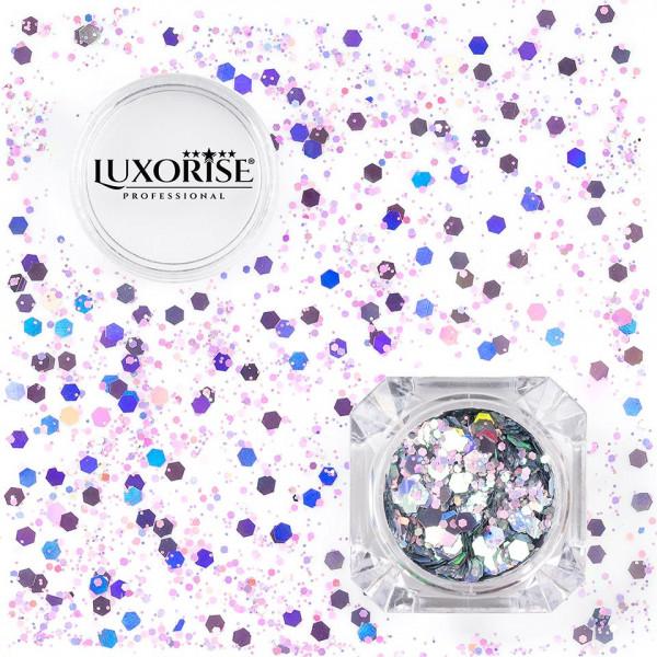 Poze Paiete Unghii LUXORISE Disco Lights #11