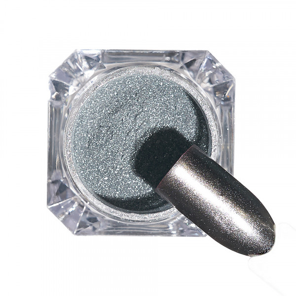 Poze Pigment unghii Chrome #126 cu aplicator - LUXORISE
