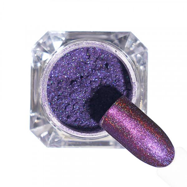 Poze Pigment unghii Holografic #116 cu aplicator - LUXORISE