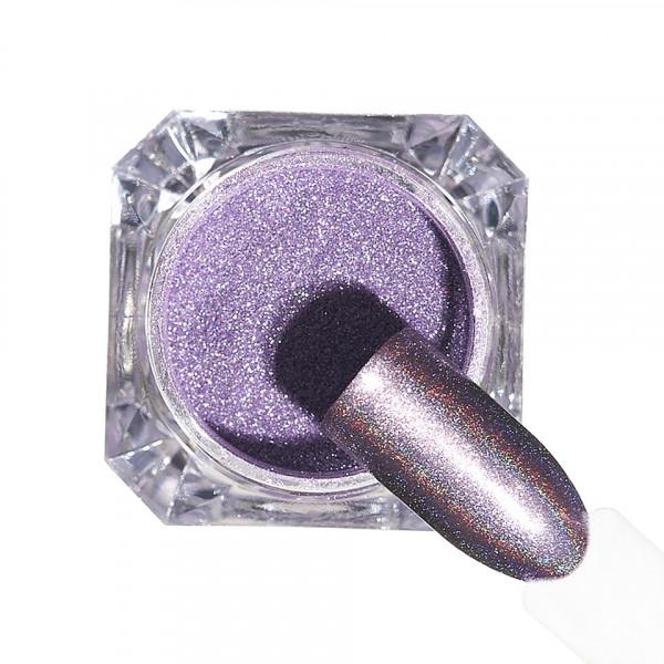 Poze Pigment unghii Holografic #151 cu aplicator - LUXORISE