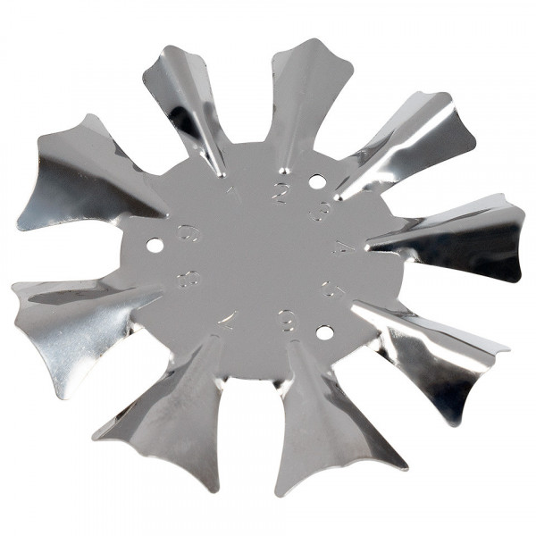 Poze Rotita Metalica pentru french cu acryl #03