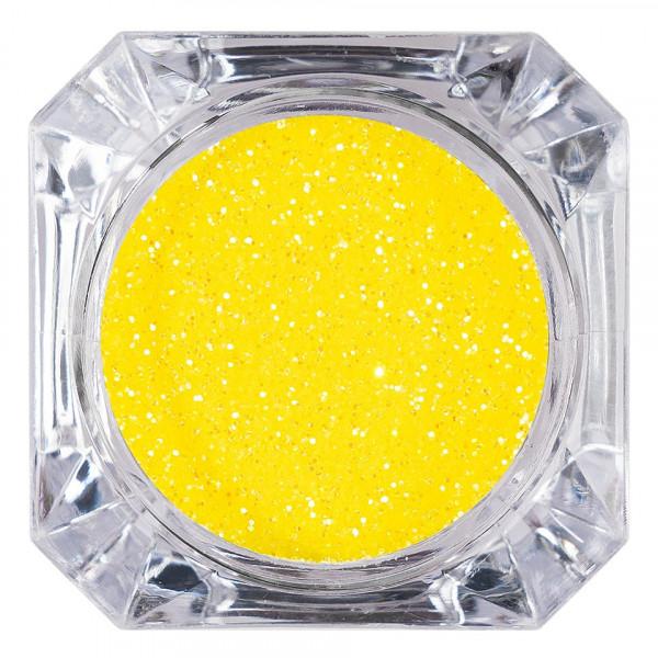 Poze Sclipici Glitter Unghii Pulbere LUXORISE, Galben #15