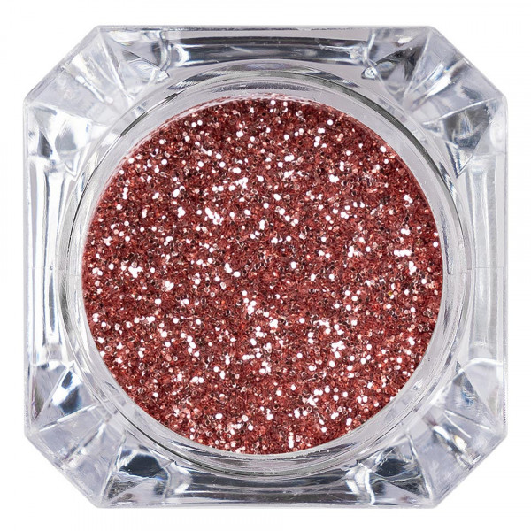 Poze Sclipici Glitter Unghii Pulbere LUXORISE, Rose Wine #39