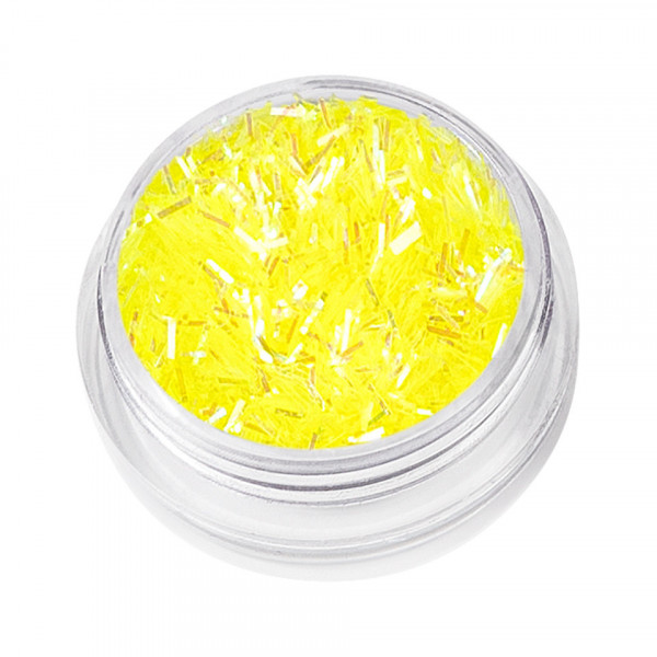 Poze Sclipici Unghii Lung Nail Glitter Dance, Yellow