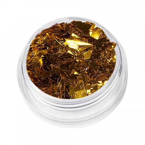 Poze Sclipici Unghii Wonderland - Crystal Gold, 5g