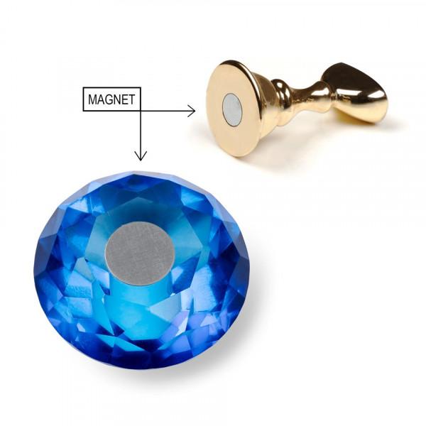 Poze Suport Magnetic Tipsuri pentru Exercitiu si Expunere Crystal Blue