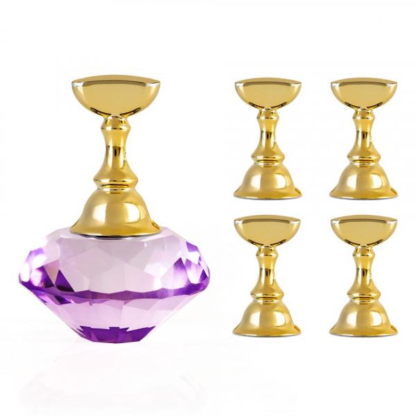 Poze Suport Magnetic Tipsuri pentru Exercitiu si Expunere Crystal Purple